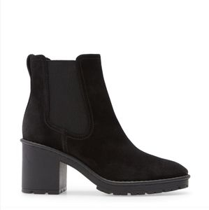 Vince | Henderson Chelsea Lugged Block Heeled Boot
